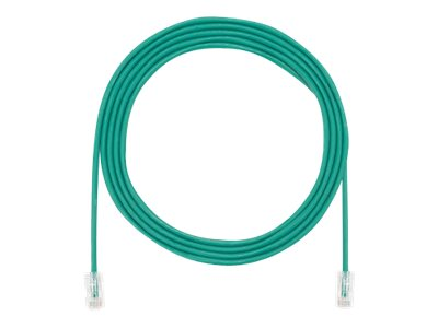 Panduit CAT5E UTP Copper Patch Cord, Green, 3ft