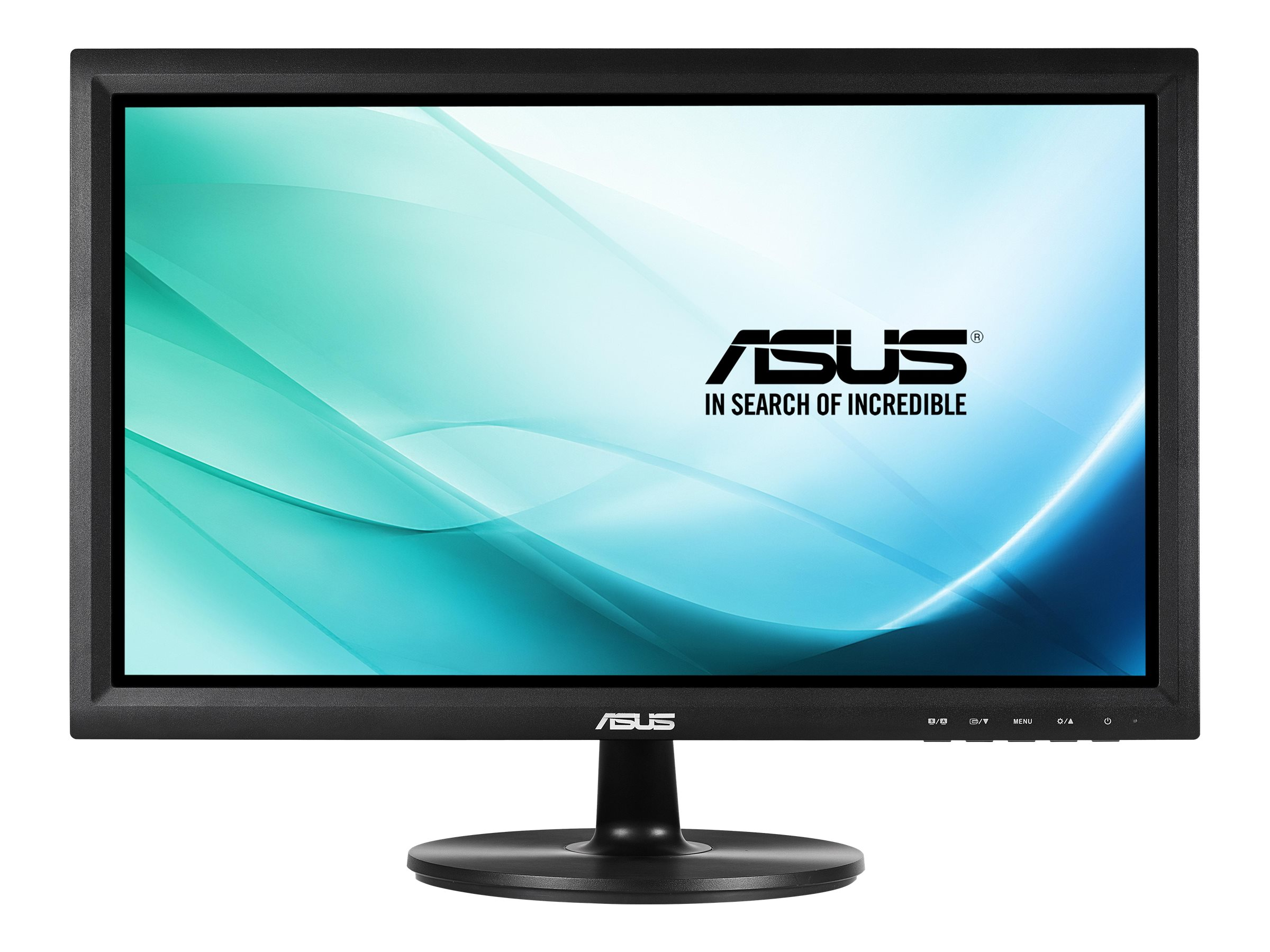 Asus 19.5 VT207N LED-LCD Touchscreen Monitor, Black