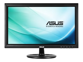 Asus 19.5 VT207N LED-LCD Touchscreen Monitor, Black, VT207N, 17588656, Monitors - Touchscreen