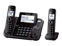 Panasonic Link2Cell 2-Line Cordless Phone - 2 Handsets