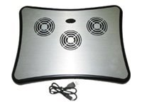 Athenatech Notebook Cooling Pad with 4 Port Hub, CA-SRD11, 8196378, Cooling Systems/Fans