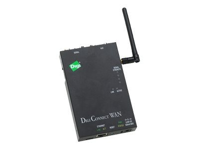 Digi Connect WAN Routing Gateway - Cellular (1XRTT - VERIZON), Ethernet, DC-WAN-B201-A