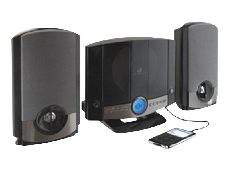GPX GPX Home Music System - Black, HM-3817DTBLK