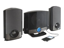 GPX GPX Home Music System - Black, HM-3817DTBLK, 33170621, Stereo Components