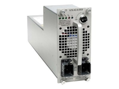 Cisco Nexus 7000 6.0kW AC Power Supply Module, N7K-AC-6.0KW, 8509371, Power Supply Units (internal)