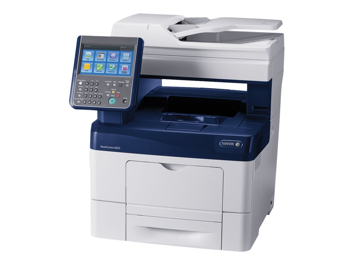 Xerox WorkCentre 6655 XM Color Multifunction Printer, 6655/XM, 17728014, MultiFunction - Laser (color)