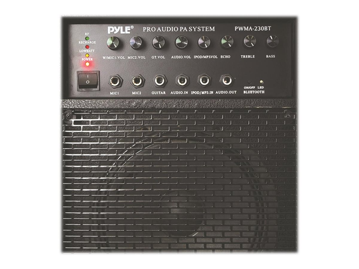 Pyle 400W Wireless Portable BT PA System, PWMA230BT