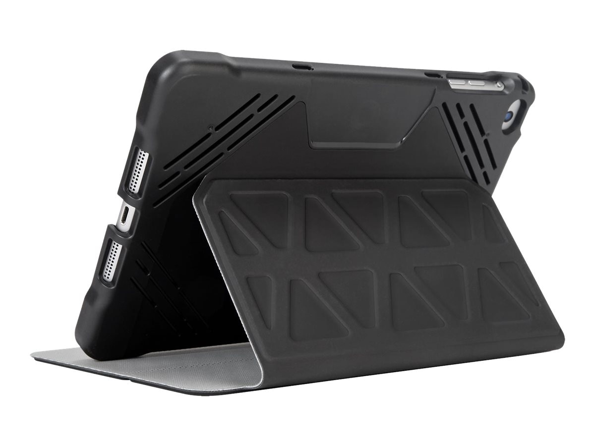 Targus 3D Protection Case for iPad mini 1 2 3 7.9, Black, THZ595GL, 28667317, Carrying Cases - Tablets & eReaders