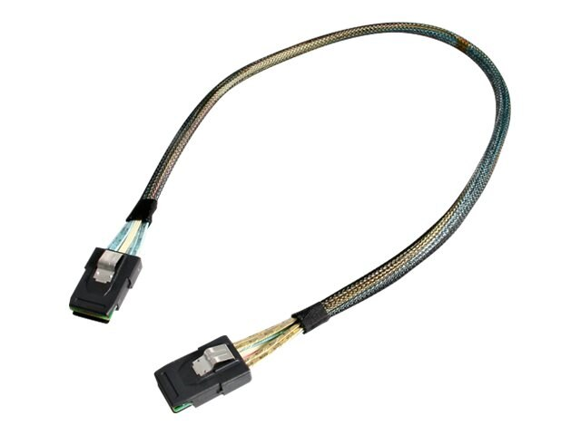 StarTech.com MiniSAS Cable with Sidebands, SFF8087 to SFF8087, 0.5m, SAS878750, 7989181, Cables