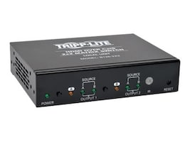 Tripp Lite 2x2 HDMI F F over Cat5 Cat6 Matrix Extender Switch with x2 RJ-45 , TAA, Instant Rebate - Save $22, B126-2X2, 16810462, Switch Boxes - AV