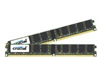 Crucial 8GB PC2-5300 240-pin DDR2 SDRAM DIMM Kit