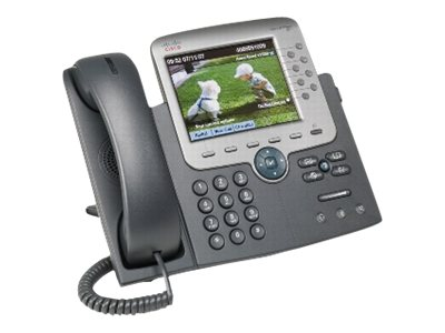 Cisco Unified IP Phone 7975G SCCP, SIP