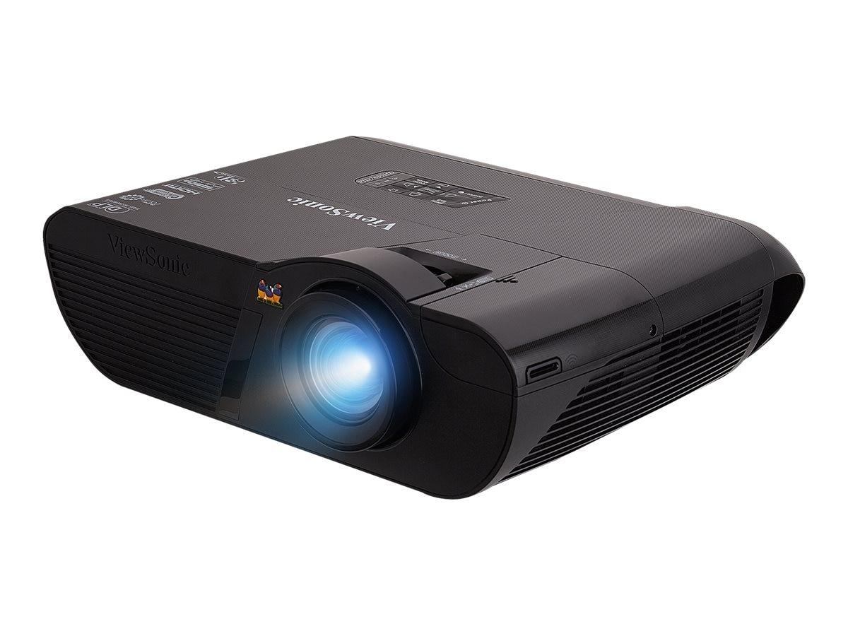 ViewSonic PJD7835HD Full HD DLP Projector, 3500 Lumens, Black, PJD7835HD, 24369081, Projectors