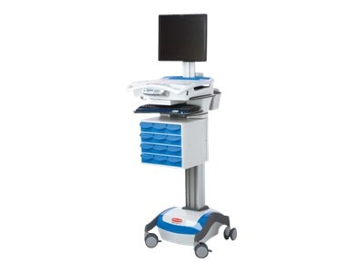 Rubbermaid M38RXA40HL LCD Cart, 40A (Required Drawer Kit), 1781745, 14421885, Computer Carts - Medical