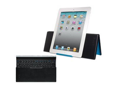 Logitech Tablet BT Keyboard for iPad, iPad 2, 3rd Gen, 4th Gen, iPad mini, Black, 920-003676, 15080621, Keyboards & Keypads