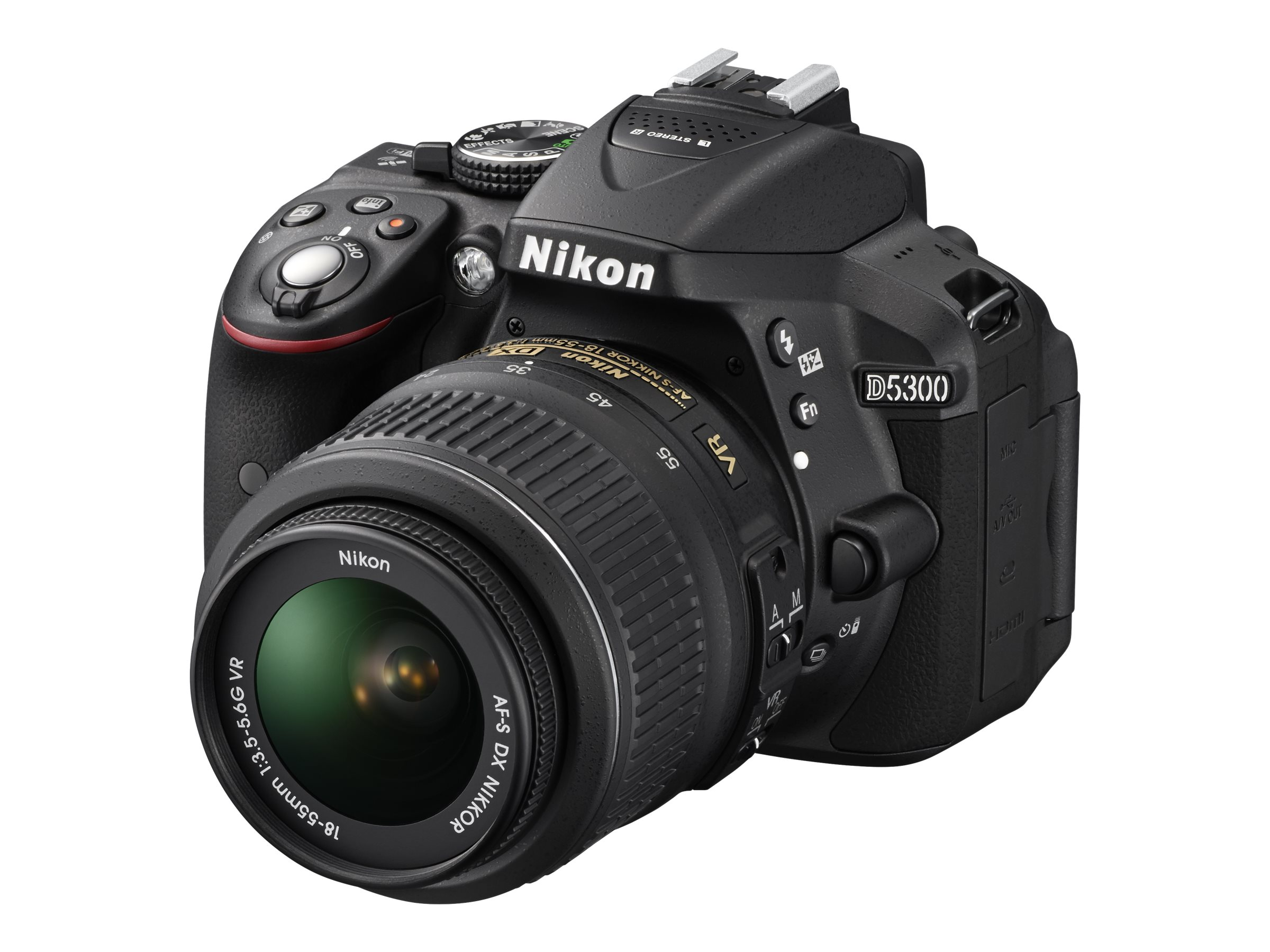 Nikon D5300 DX-Format Digital SLR with 18-140mm VR Lens - Black, 13303