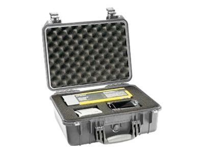 Pelican 1450 Hard Case with Foam (Silver)
