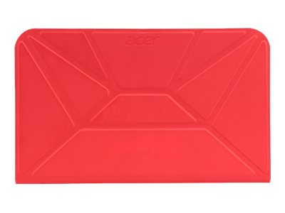Acer Crunch Cover-to-Stand for ICONIA A1-830, Red, NP.BAG1A.031, 17936729, Protective & Dust Covers