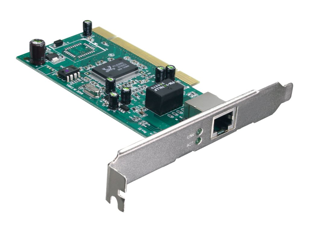 TRENDnet 32-bit 10 100 1000Mbps Copper Gigabit PCI Adapter, TEG-PCITXR