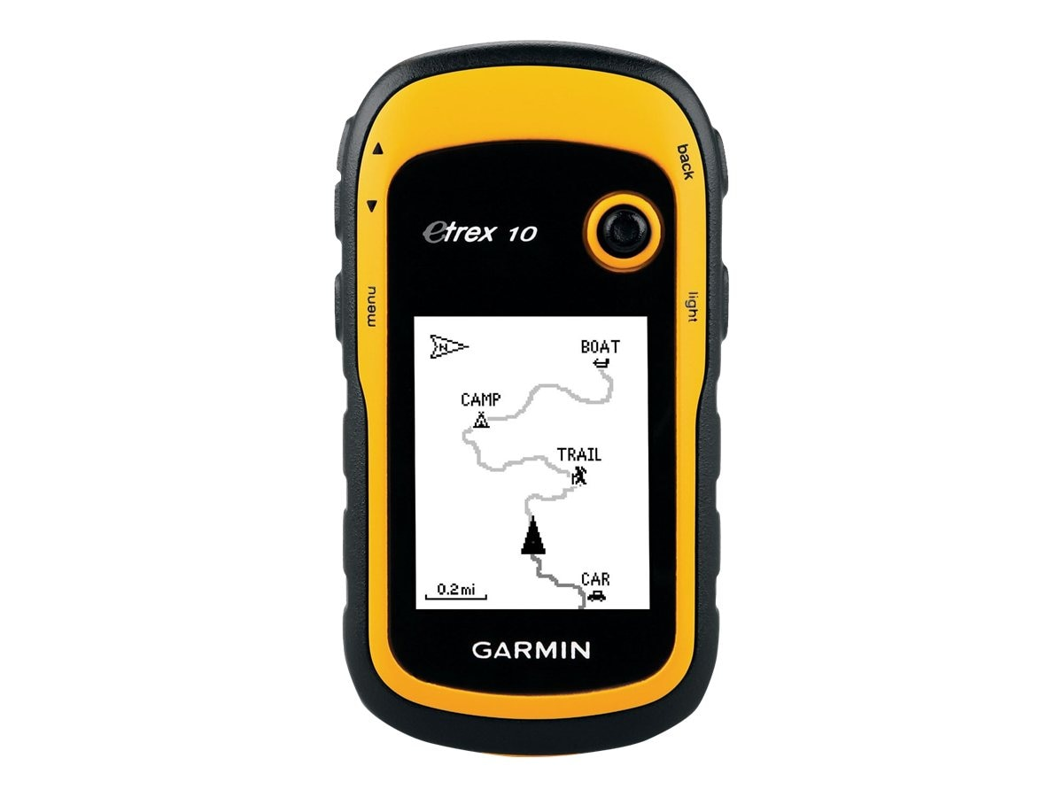 Garmin eTrex 10 GPS Handheld, Yellow, 010-00970-00