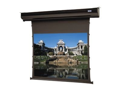 Da-Lite Tensioned Contour Electrol Projection Screen with Veneer Case Cover, HC Cinema Vision, 16:10, 130, 37606VN, 13166798, Projector Screens