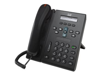 Refurb. Cisco Refurb. 6921 IP Phone, Charcoal, Standard Headset