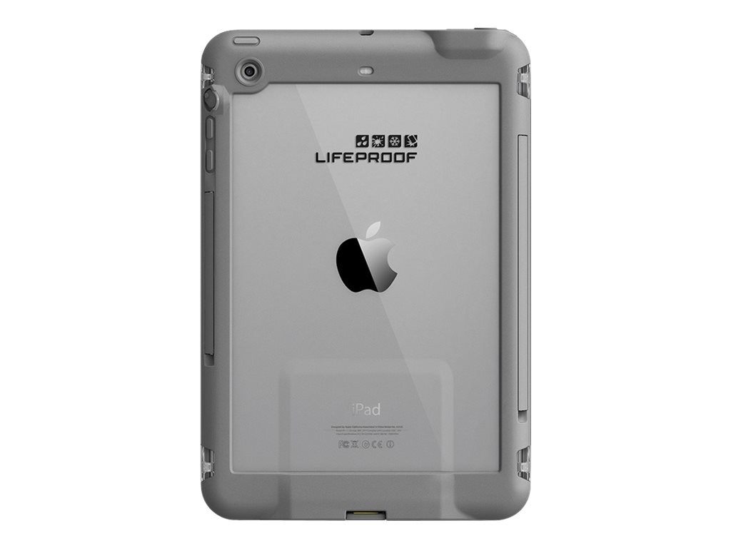 Lifeproof fre Case for iPad mini 1 2 3, White Gray, 77-50779, 18659284, Carrying Cases - Tablets & eReaders