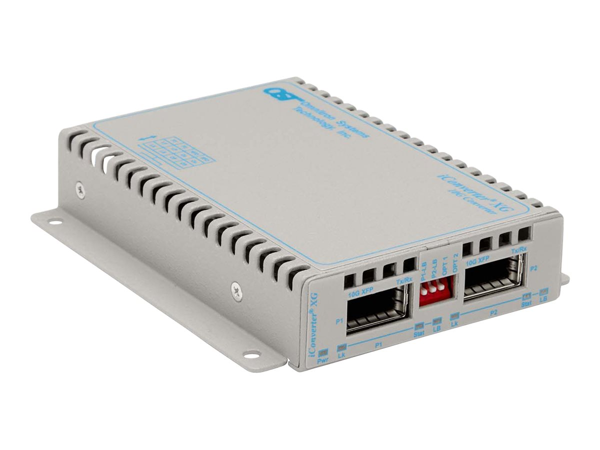 Omnitron iConverter XG XFP To XFP Standalone WM AC US Wide Temp, 8599-11-DW, 15167495, Network Transceivers