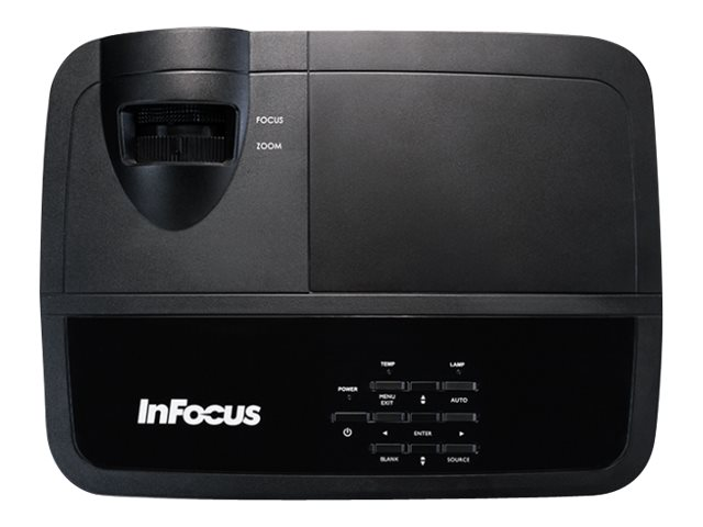 InFocus IN2126X WXGA DLP Projector, 4200 Lumens, Black, IN2126X