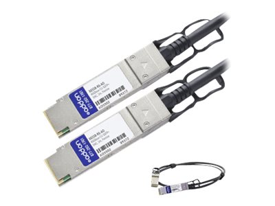 ACP-EP 40GBase-CU QSFP+ to QSFP+ Direct Attach Passive Twinax Cable, 2m