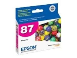 Epson Magenta UltraChrome Hi-Gloss 2-Ink Cartridge for Stylus Photo R1900 Printers, T087320, 8317918, Ink Cartridges & Ink Refill Kits