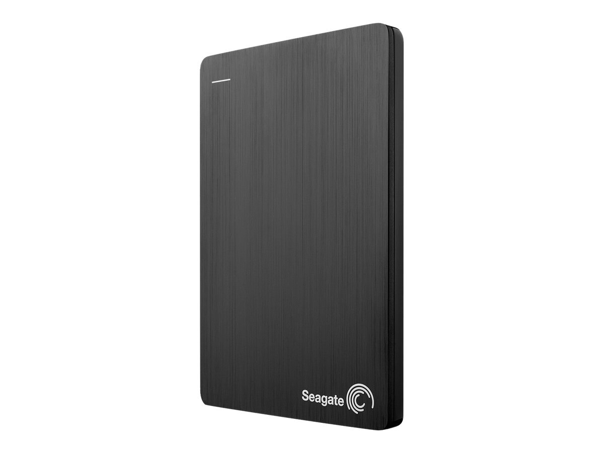 Seagate 500GB Slim USB 3.0 Portable Hard Drive - Black, STCD500102