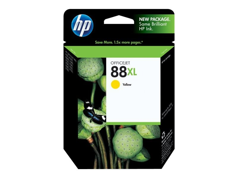 HP 88XL (C9393AN) High Yield Yellow Original Ink Cartridge