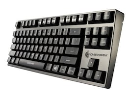 Cooler Master QuickFire Rapid Mechanical Gaming Keyboard USB PS2 Brown, SGK-4000-GKCM1-US, 14736967, Keyboards & Keypads