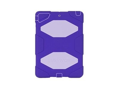 Griffin Survivor Rugged case for iPad Air Purple, GB36406, 16231840, Carrying Cases - Tablets & eReaders