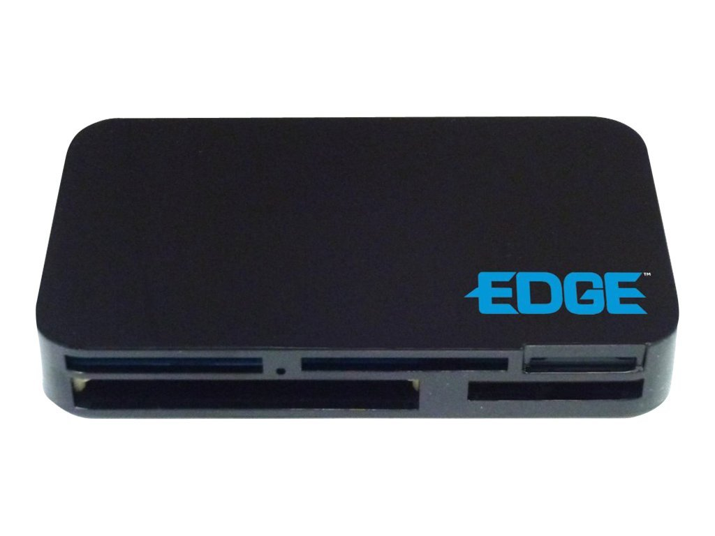 Edge All-In-One USB Card Reader, Supports SDXC, UDMA, xD, PE233433, 14256162, PC Card/Flash Memory Readers