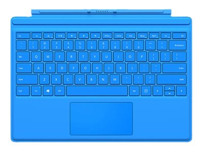 Microsoft Surface Pro 4 Type Cover, Bright Blue, R9Q-00002, 30734283, Keyboards & Keypads