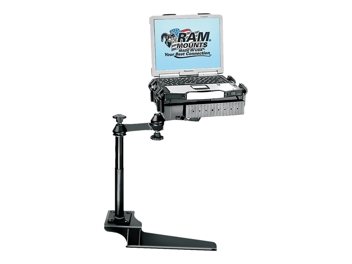 Ram Mounts No-Drill Laptop Mount for the Ford F-250, F-350, F-450, F-550, F-650, F-750 and Excursion, RAM-VB-185-SW1
