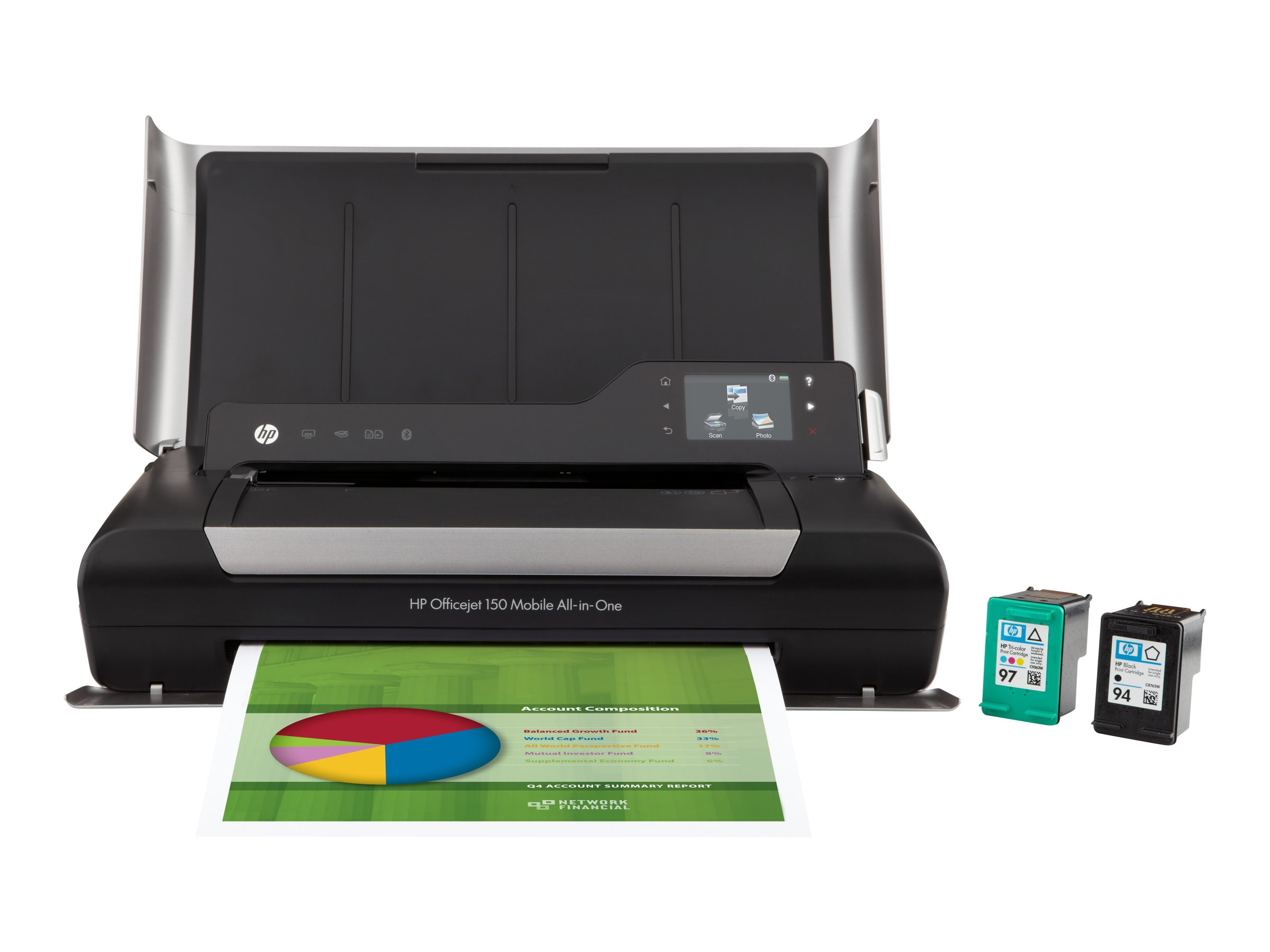 HP Officejet 150 Mobile All-In-One Printer, CN550A#B1H