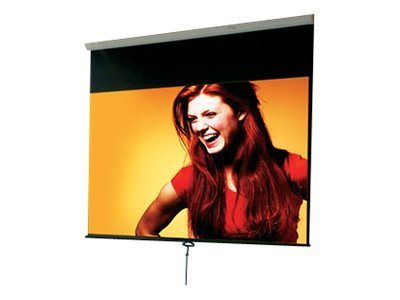 Draper Luma Manual Projection Screen with Auto-Return, Matte White, 16:10, 94, 207186, 12936711, Projector Screens