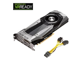 PNY GeForce GTX 1070 PCIe 3.0 x16 Founders Edition Graphics Card, 8GB GDDR5, VCGGTX10708PB-CG, 32102239, Graphics/Video Accelerators