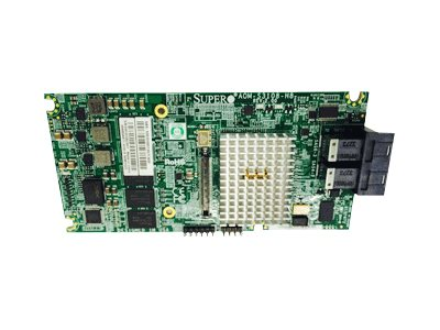 Supermicro Low Profile 12Gb s Eight-Port SAS Internal RAID Adapter, AOM-S3108M-H8