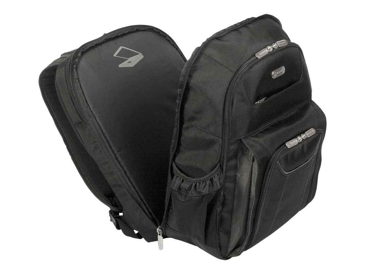 Targus Zip-Thru Air Traveler Backpack, Black, TBB012US