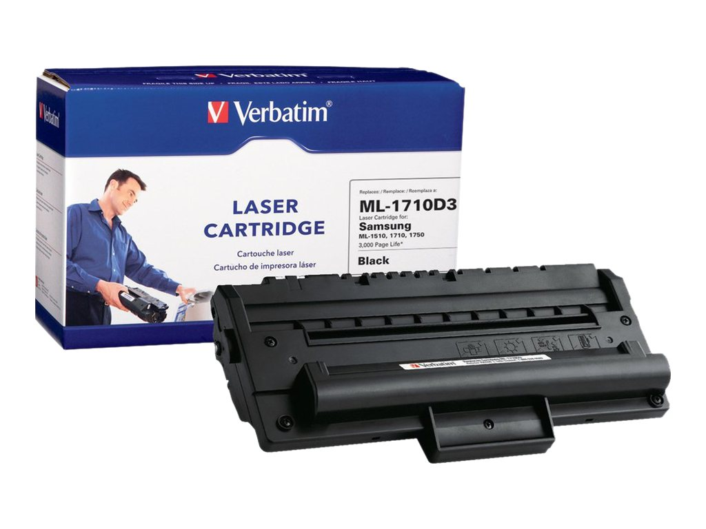 Verbatim ML-710D3 Black Toner Cartridge for Samsung ML-1410, 1510, 1710, 1710P, 1740, 1750, 95509