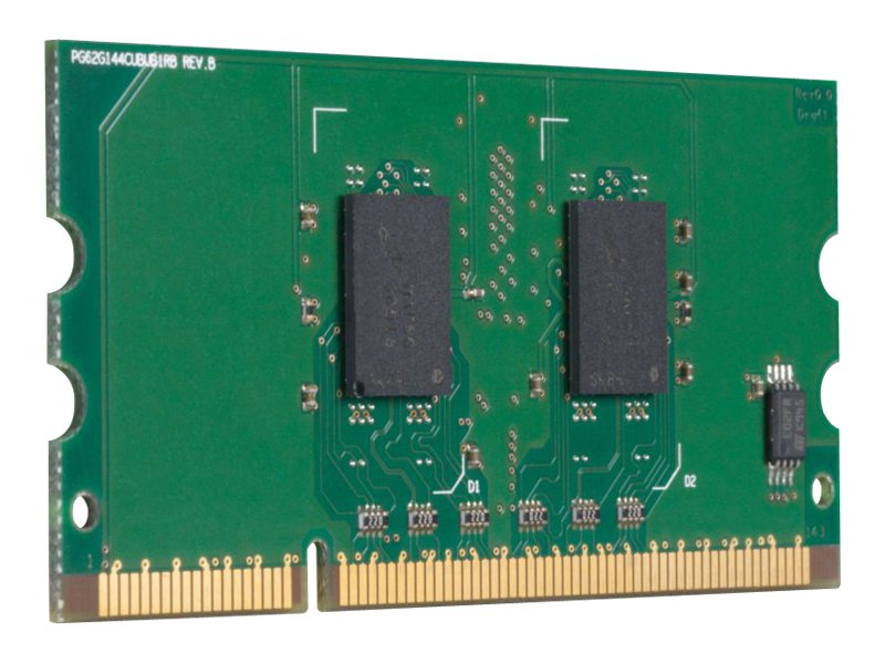HP 256MB PC2-3200 144-pin DDR2 SDRAM UDIMM for Select LaserJet Printers, CB423A