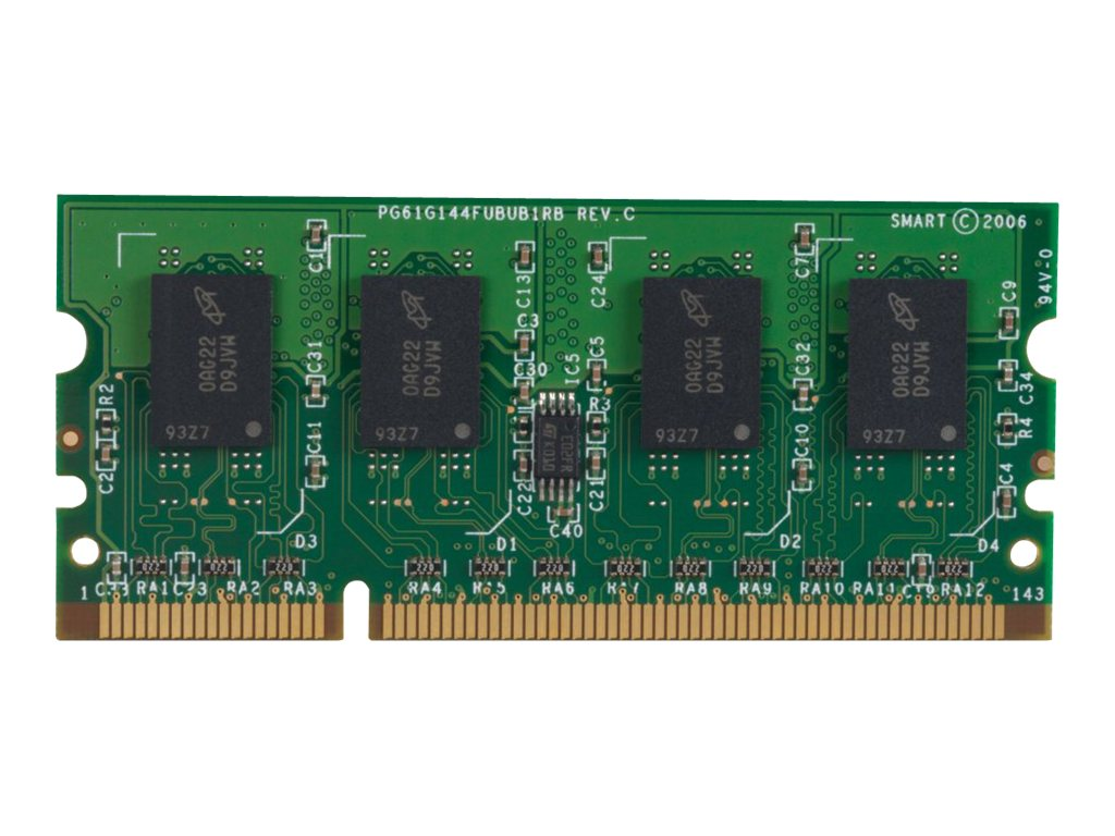 HP 512MB 144-pin DDR2 SDRAM DIMM for LaserJet P4014, P4015, P4510, CE483A, 8697105, Memory