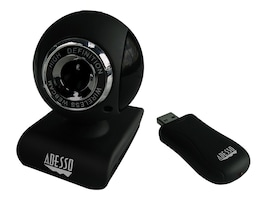 Adesso CyberTrack V10 Webcam with Microsoft Arcsoft, CYBERTRACK V10, 13418297, WebCams & Accessories