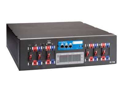 Eaton BladeUPS Rack Power Module 208V L21-30P Input 15ft Cord (6) L6-20R Outlets, Y03133044100000, 31638664, Power Distribution Units