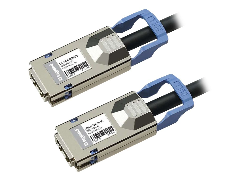 C2G 10GBASE-CU CX4 to CX4 Direct Attach Passive Twinax Cable, 3m, MSA and TAA Compliant
