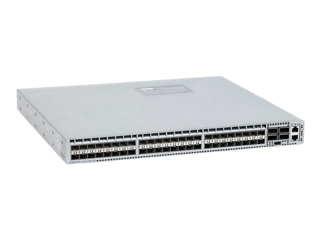 7050, 48xSFP+ & 4xQSFP+ switch, rear-to-front airflow  and dual 460W AC power supplies